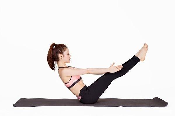 Các bài tập yoga tại nhà giảm mỡ bụng hiệu quả 1