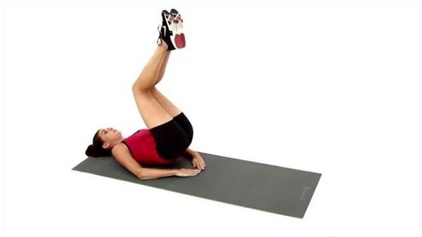 Ab Pulse Ups - bài tập cơ bụng dưới hiệu quả