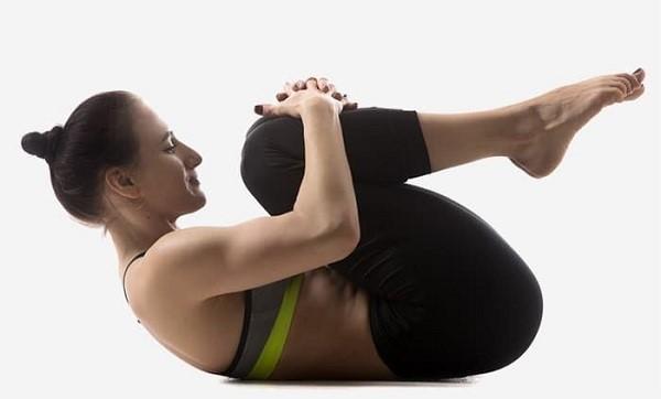 các bài yoga giảm mỡ bụng