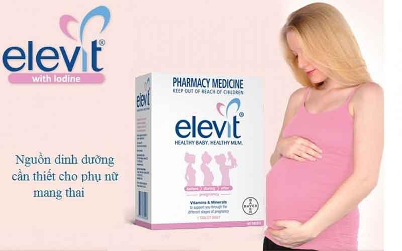 Thuốc bổ Elevit có tác dụng gì cho phụ nữ mang thai?