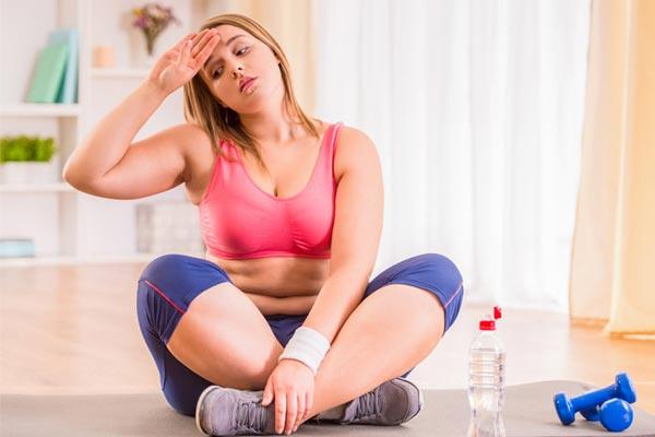 tập thể dục giảm cân trong 1 tuần