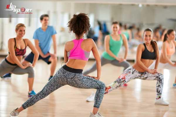 thể dục giảm cân aerobic