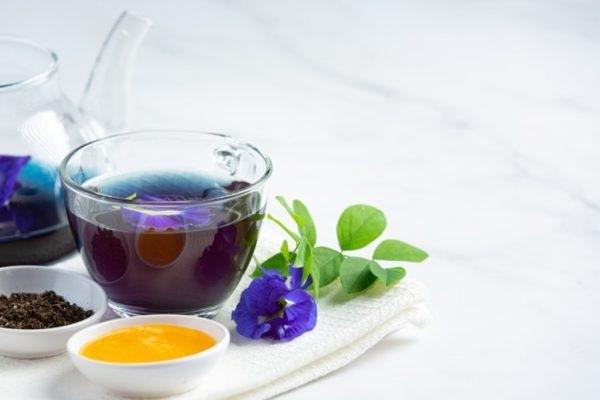 trà hoa đậu biếc giảm cân
