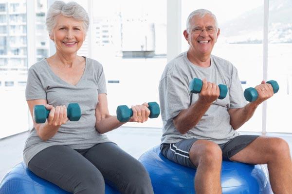 Các bài tập gym cho người trung niên